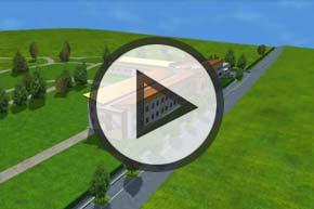 3D vizualizacija samostana i duhovnog centra sestara milosrdnica