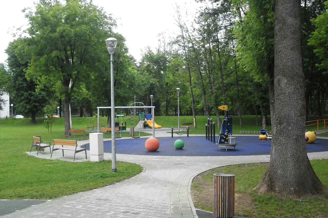 Dječje igralište Vunsko polje, Karlovac
