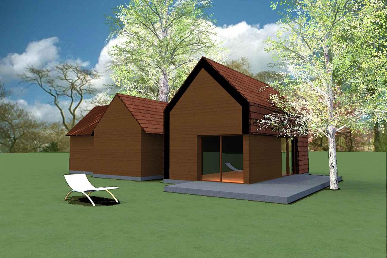 Dogradnja kuće K. - Slunj