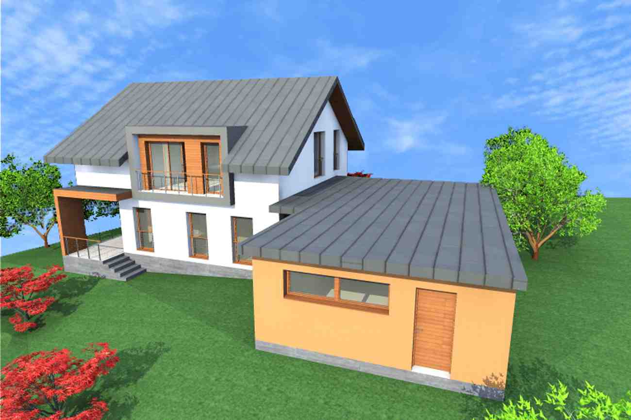 Kuća S. - Karlovac - render