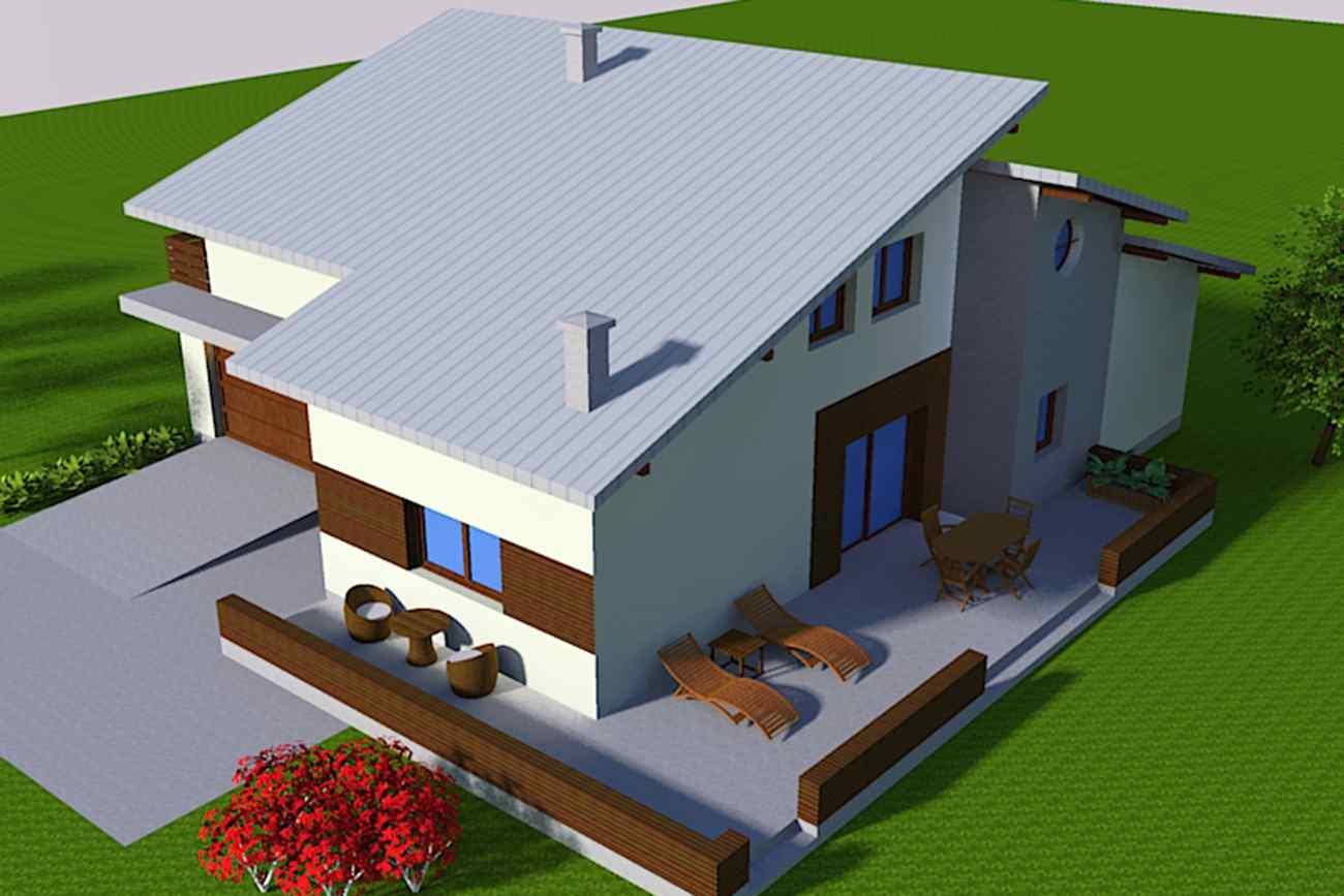 Kuća Š - Karlovac - render