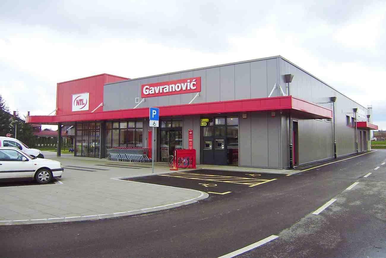 Trgovački centar Gavranović, Turanj - realizacija